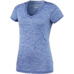 BCG™ Women's Short Sleeve V-neck Heather Tech T-shirt
