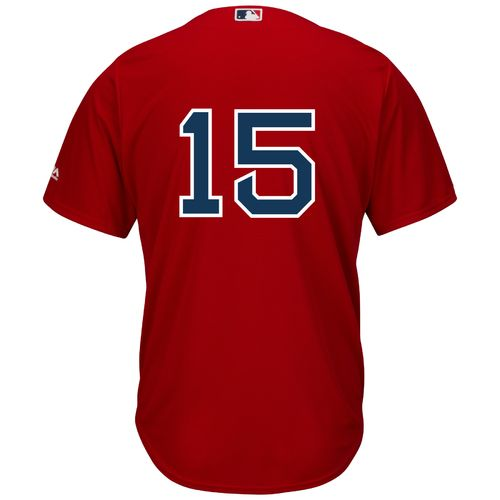 Majestic Men's Boston Red Sox Dustin Pedroia #15 Cool Base® Replica Jersey - view number 1
