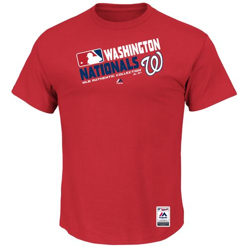 Majestic Men's Washington Nationals On Field Team Choice T-shirt