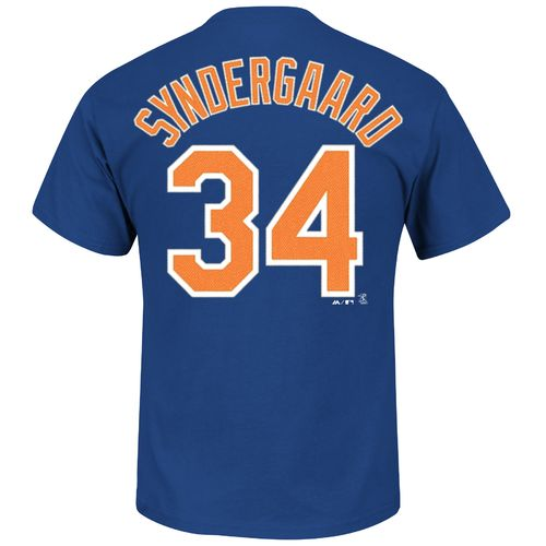Majestic Men's New York Mets Noah Syndergaard #34 T-shirt - view number 1