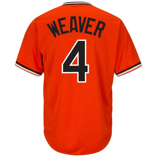 Majestic Men's Baltimore Orioles Earl Weaver #4 Cooperstown Cool Base 1965-66 Replica Jersey - view number 1