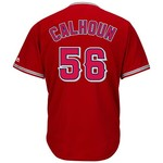 Majestic Men's Los Angeles Angels of Anaheim Kole Calhoun #56 Cool Base Replica Jersey - view number 1
