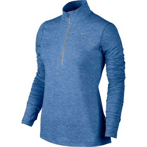 Display product reviews for Nike Women's Element Dri-FIT 1/2 Zip Running Top