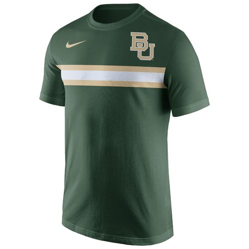 Nike Men's Baylor University Cotton Team Stripe T-shirt