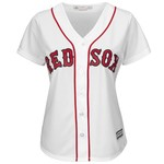 Majestic Women's Boston Red Sox Cool Base Replica Home Jersey - view number 1