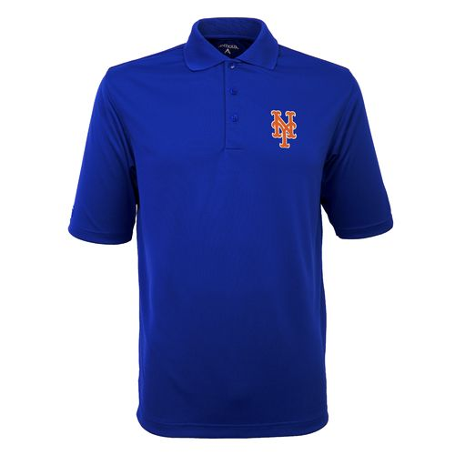 Antigua Men's New York Mets Exceed Polo Shirt