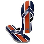 Forever Collectibles™ Men's Houston Astros 2016 Contour Stripe Flip-Flops