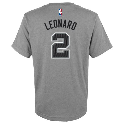 adidas™ Boys' San Antonio Spurs Kawhi Leonard #2 High Definition T-shirt