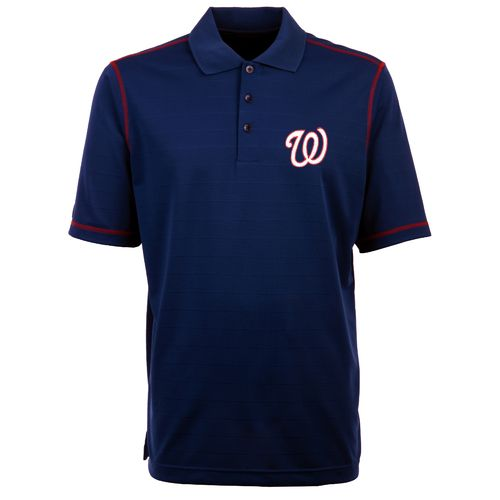 Antigua Men's Washington Nationals Icon Piqué Polo Shirt