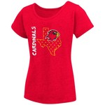 Colosseum Athletics Girls' Lamar University T-shirt