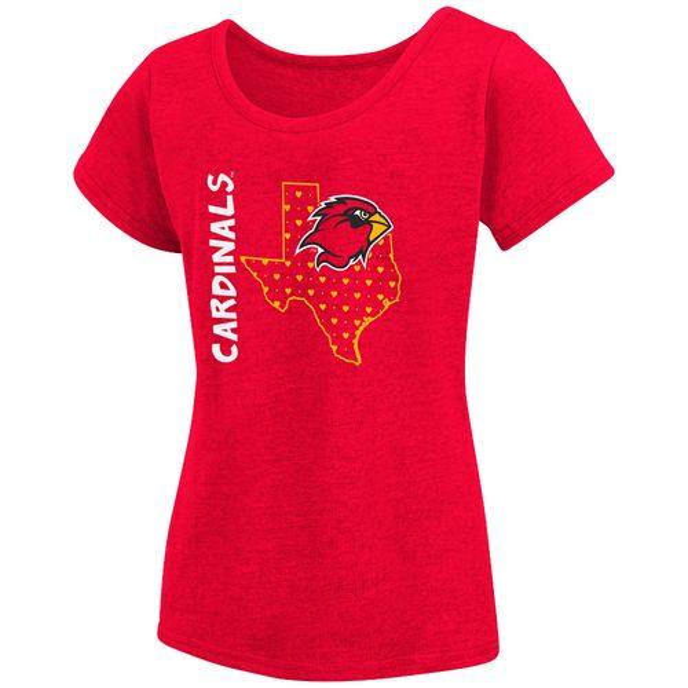 Colosseum Athletics Girls' Lamar University T-shirt