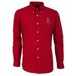 Antigua Men's Los Angeles Angels of Anaheim Dynasty Long Sleeve Button Down Shirt - view number 1