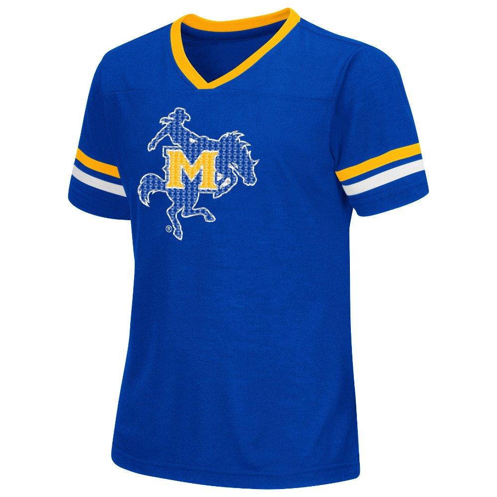 Colosseum Athletics™ Girls' McNeese State University Titanium T-shirt