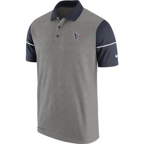Nike Men's Houston Texans Sideline Polo Shirt