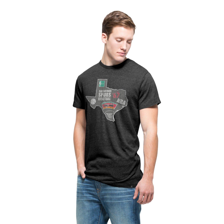 '47 San Antonio Spurs Tri State Outline T-shirt