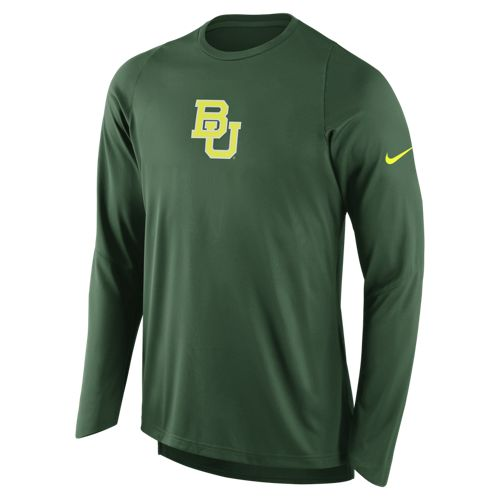 Nike Men's Baylor University Long Sleeve Shooter T-shirt