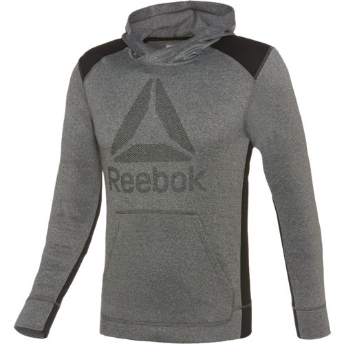 Reebok Men's Workout Ready Warm Poly Fleece Over the Head Hoodie