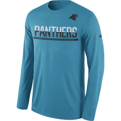 Nike Men's Carolina Panthers Team Practice Legend T-shirt