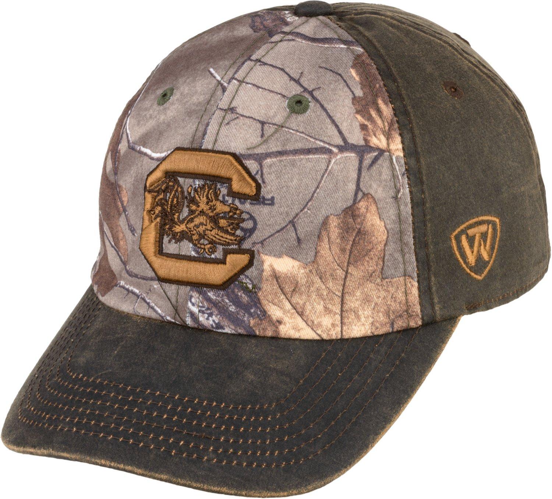 Top of the World Men's University of South Carolina Driftwood Cap