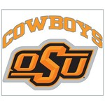 "Stockdale Oklahoma State University 8"" x 8"" Vinyl Die-Cut Decal"
