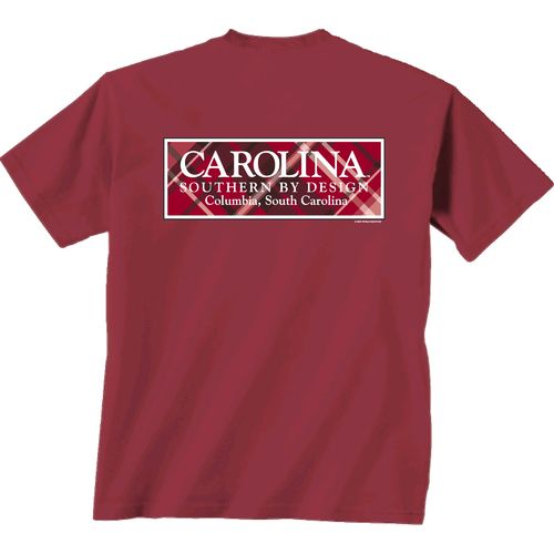 New World Graphics Women's University of South Carolina Madras T-shirt