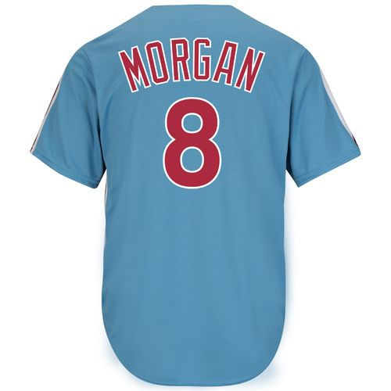 Majestic Men's Philadelphia Phillies Joe Morgan #8 Cool Base Cooperstown Jersey