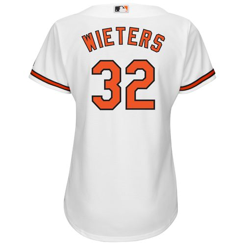 Majestic Women's Baltimore Orioles Matt Wieters #32 Authentic Cool Base Home Jersey