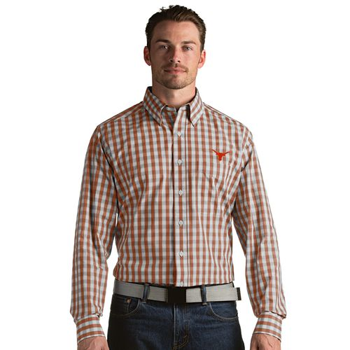 Antigua Men's University of Texas Alliance Button Down