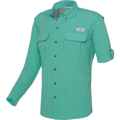 Magellan outdoors men 39 s fish gear laguna madre long for Magellan fishing shirts