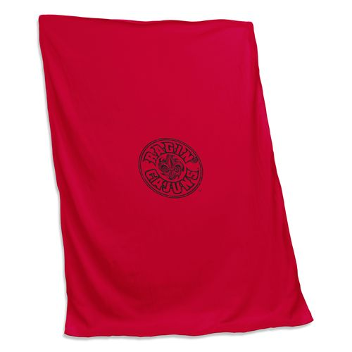 Logo™ University of Louisiana at Lafayette Sweatshirt Blanket