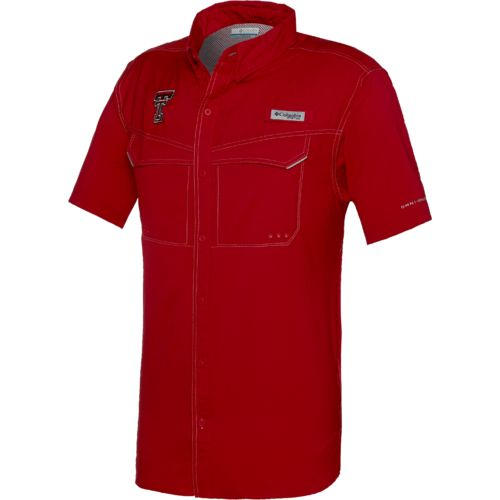Columbia Sportswear™ Men's Texas Tech University Low Drag Offshore Short Sleeve Shirt