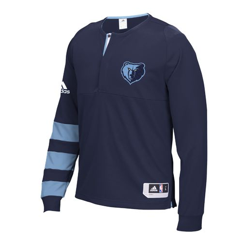 adidas Men's Memphis Grizzlies Long Sleeve Shooter Shirt