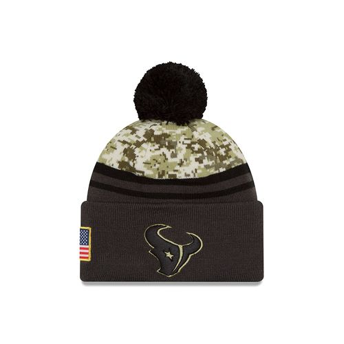 New Era Men's Houston Texans Salute to Service Knit Cap