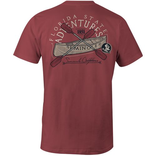 Image One Men's Florida State University Adventures Comfort Color T-shirt