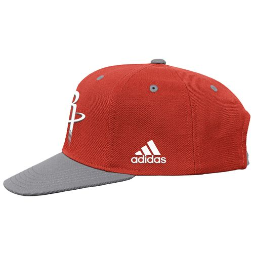 adidas Boys' Houston Rockets On Court Snapback Cap - view number 4