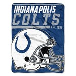 NFL Indianapolis Colts 40-Yard Micro Raschel Throw - view number 1