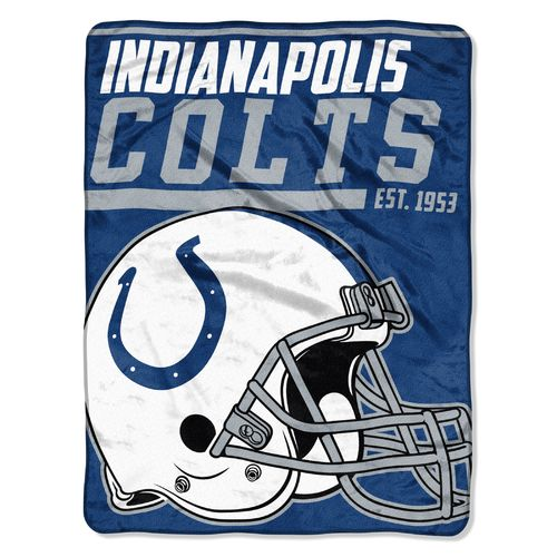 The Northwest Company Indianapolis Colts 40-Yard Micro Raschel Throw