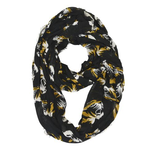 ZooZatz Women's University of Missouri Logo Infinity Scarf