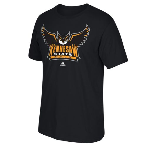 adidas™ Men's Kennesaw State University Logo T-shirt