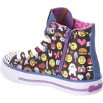 SKECHERS Girls' Twinkle Toes Shuffles Chat Time Shoes - view number 3