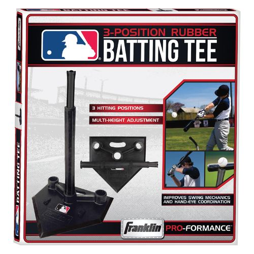 Franklin MLB 3-Position Rubber Batting Tee - view number 3