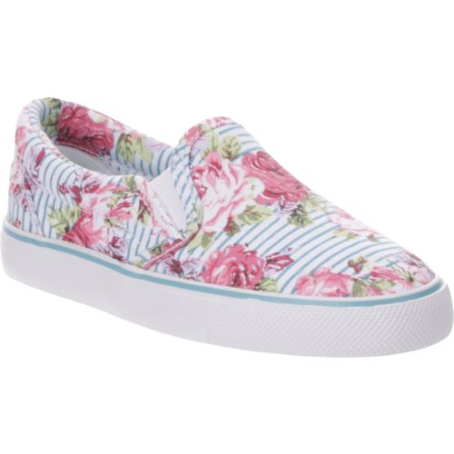 Austin Trading Co. Girls' Ava Floral Stripe Shoes - view number 2
