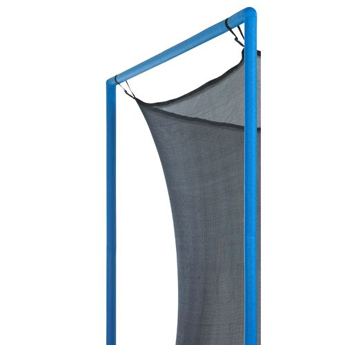 Upper Bounce® Replacement Trampoline Enclosure Net for 8' Round Frames with 4 Poles or 2 Ar - view number 1