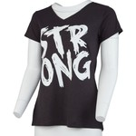 BCG Women's Strong V-neck Graphic T-shirt - view number 1