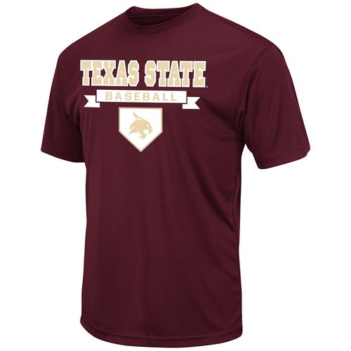 Colosseum Athletics™ Men's Texas State University Baseball T-shirt