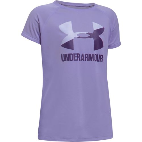 Display product reviews for Under Armour Girls' Big Logo Short Sleeve T-shirt