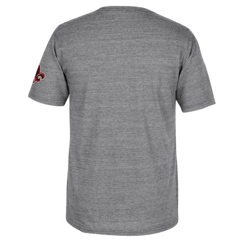 adidas Men's University of Louisiana at Lafayette Stenciled Sweep T-shirt - view number 2