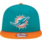 New Era Men's Miami Dolphins 9FIFTY Baycik Snapback Cap - view number 4