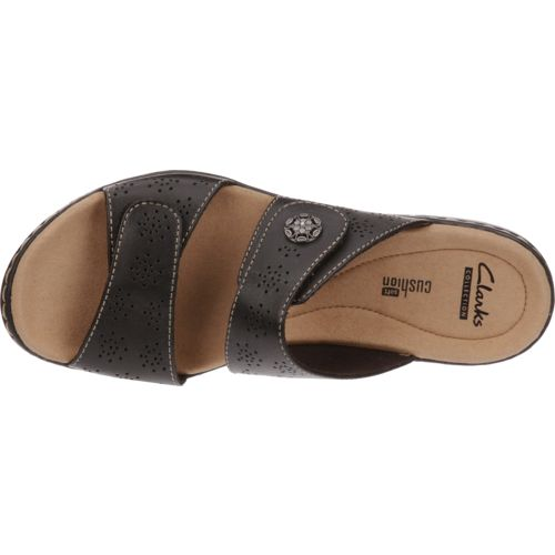Clarks® Women's 2-Strap Adjustable Sandals - view number 4