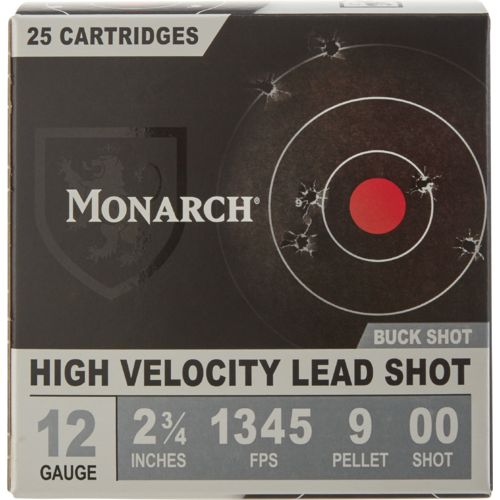 Monarch® 12 Gauge 00 Buckshot